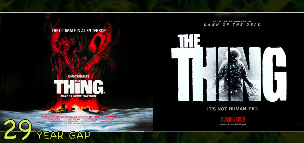 The Thing (1982 -2011) - The Art of the 20 Year Gap Sequel