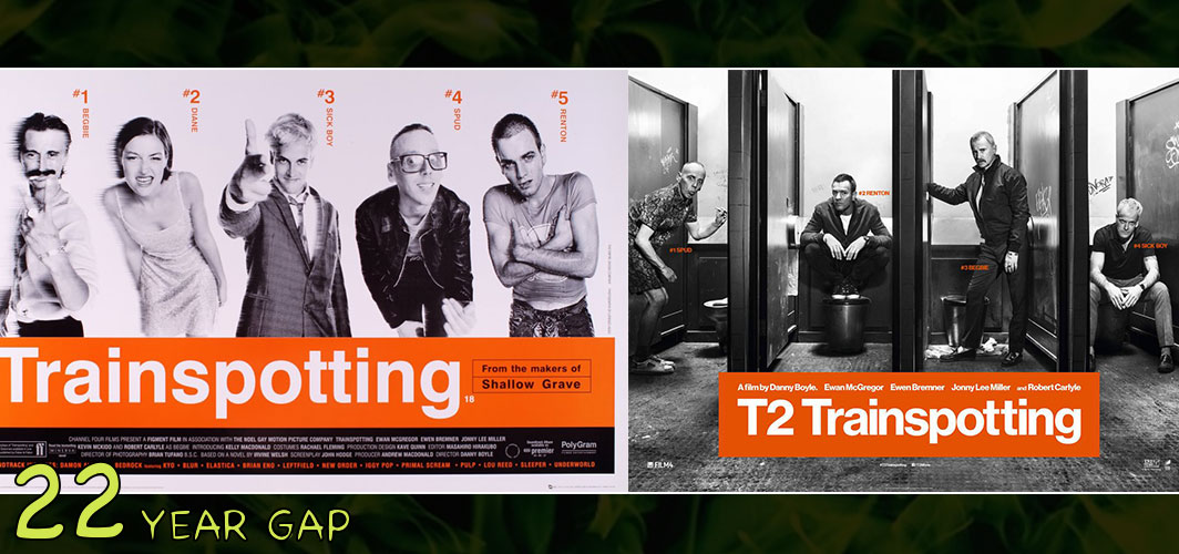 T2 Trainspotting (1995 – 2017) - The Art of the 20 Year Gap Sequel