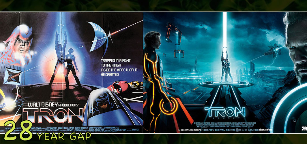 Tron: Legacy (1982 – 2010)  - The Art of the 20 Year Gap Sequel