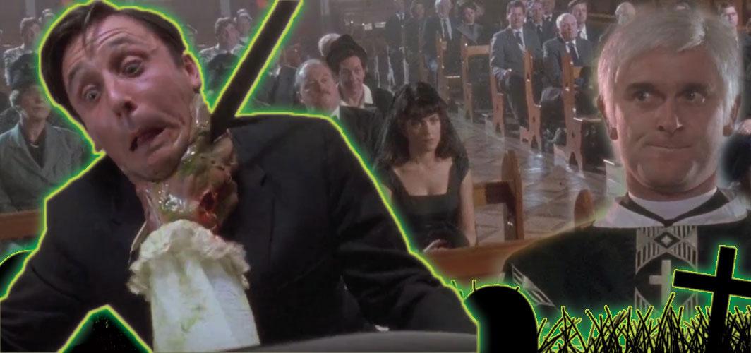 Brain Dead (1992) - 10 of the Best Horror Movie Funeral Scenes