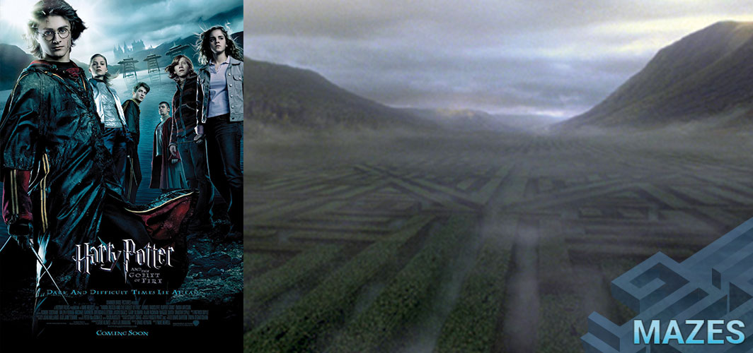 Harry Potter and the Goblet of Fire (2005) - Don't Get Lost in these 10 Creepy Maze Films