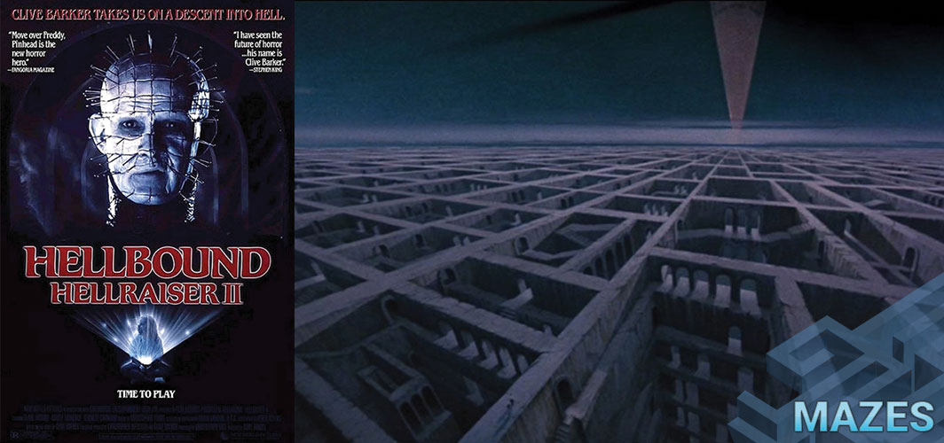 Hellbound: Hellraiser II (1988) - Don't Get Lost in these 10 Creepy Maze Films