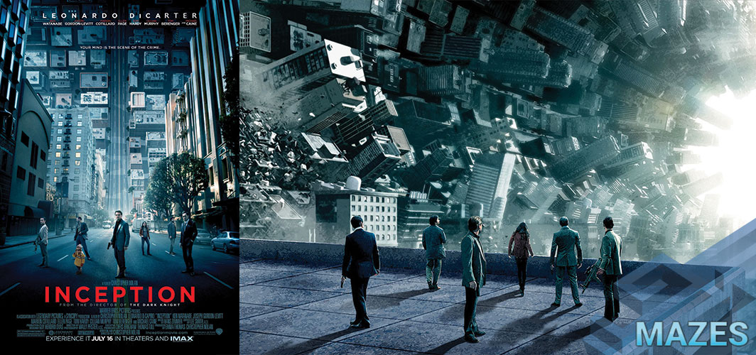 Inception (2010) - Don't Get Lost in these 10 Creepy Maze Films