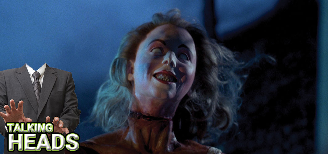Evil Dead II (1987) - 9 of the Grossest Talking heads in Film