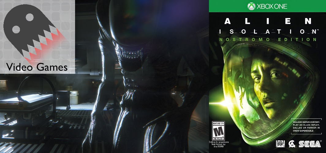 Alien: isolation (2013) – PS4 / Xbox One - 15 Horror Film Video Game Adaptions