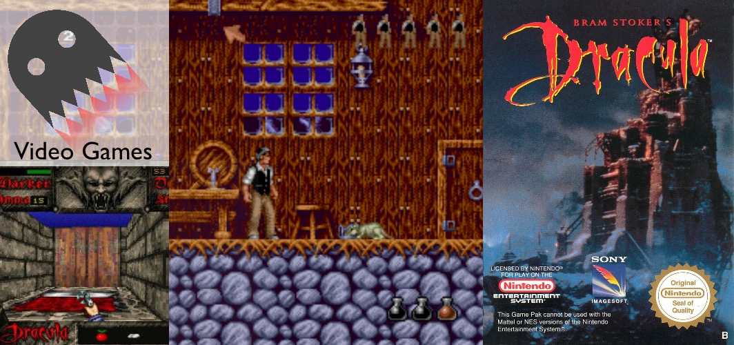 Bram stokers Dracula (1993) - SNES / Genesis - 15 Horror Film Video Game Adaptions