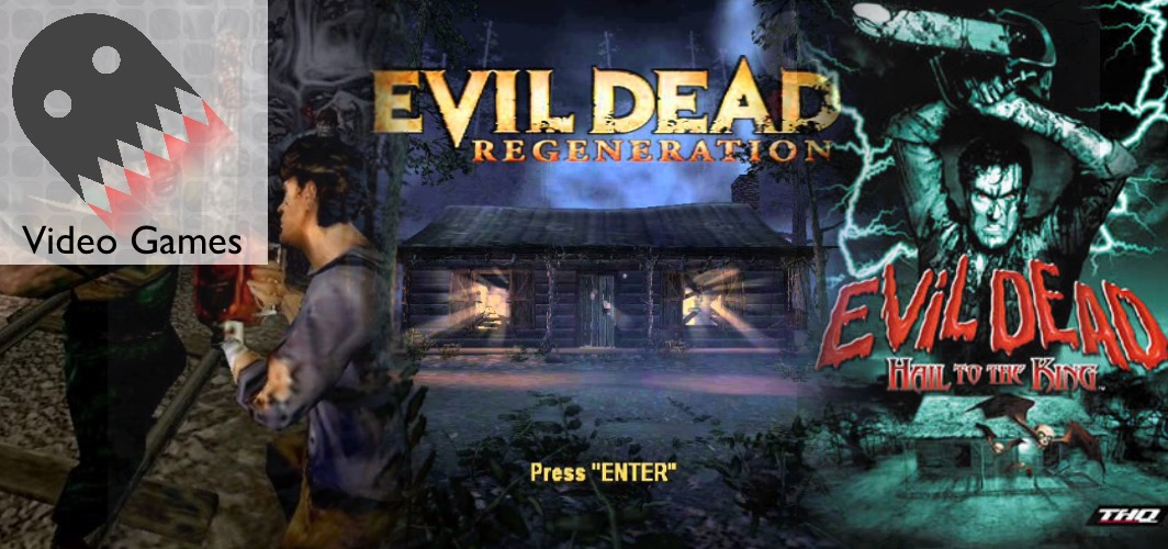 Evil Dead (1984 -20XX) - C64 / PlayStation / Dreamcast / PC - 15 Horror Film Video Game Adaptions