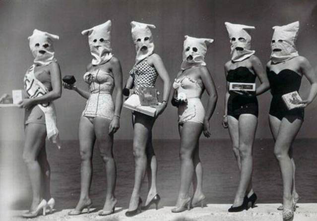 Photos from History That Will Give You Nightmares Masked beauty contest - Photos from History That Will Give You Nightmares