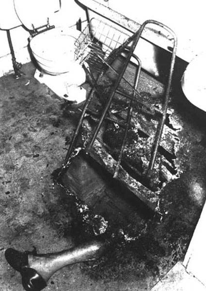John Bentley - Spontaneous Human Combustion - Photos from History That Will Give You Nightmares