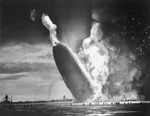 The Hindenburg Disaster - Photos from History That Will Give You Nightmares