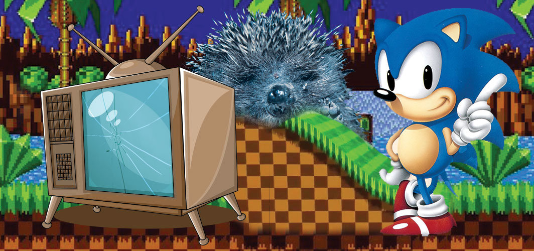 Smashing TV's – Sonic The Hedgehog - The Weird World of Video Game Power Ups!