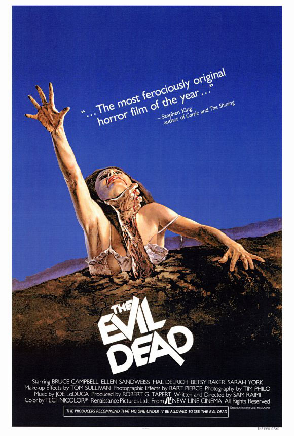 The Evil dead (1981) - 6 Film Posters that have Never Seen their own Film!