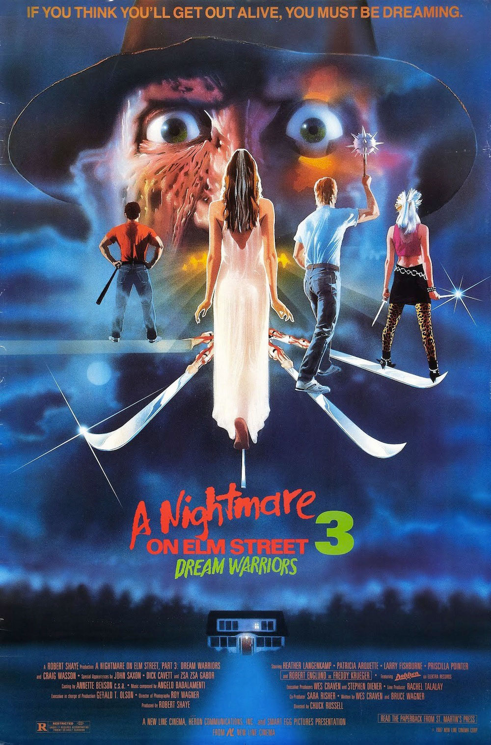 A Nightmare on Elm Street 3: Dream Warriors (1987) - 6 Film Posters that have Never Seen their own Film!