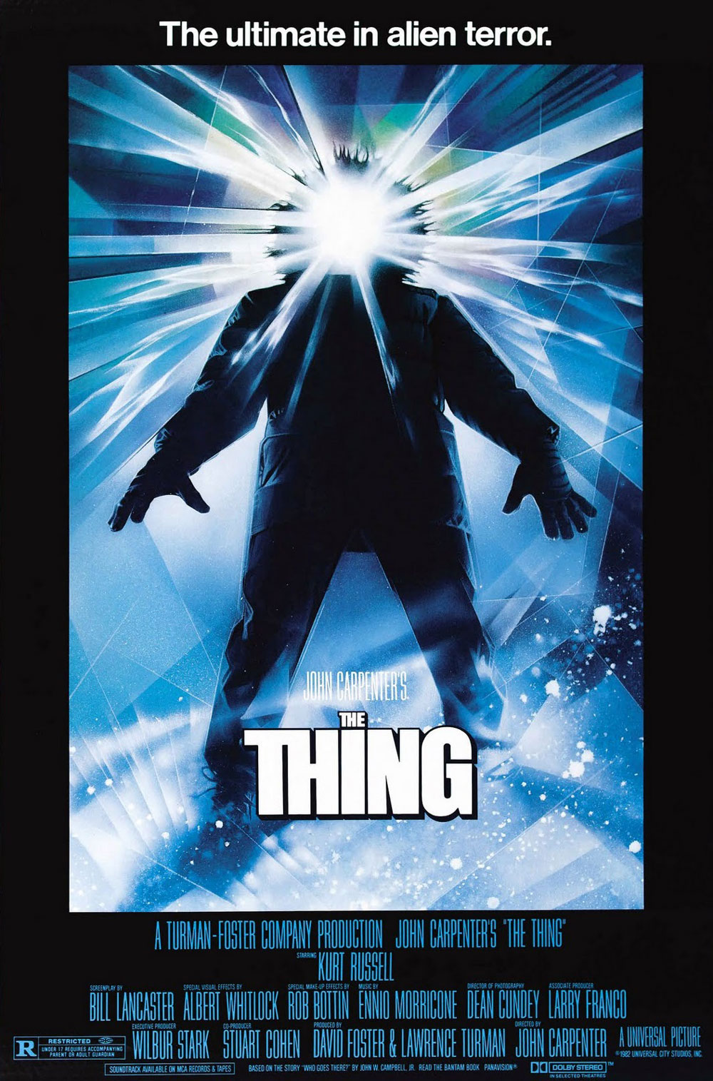 The Thing (1982) - 6 Film Posters that have Never Seen their own Film!