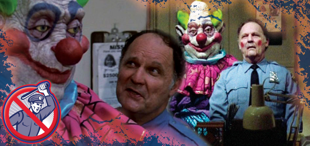 Killer Clowns from Outer Space (1988) - Police Stations can't stop the HORROR