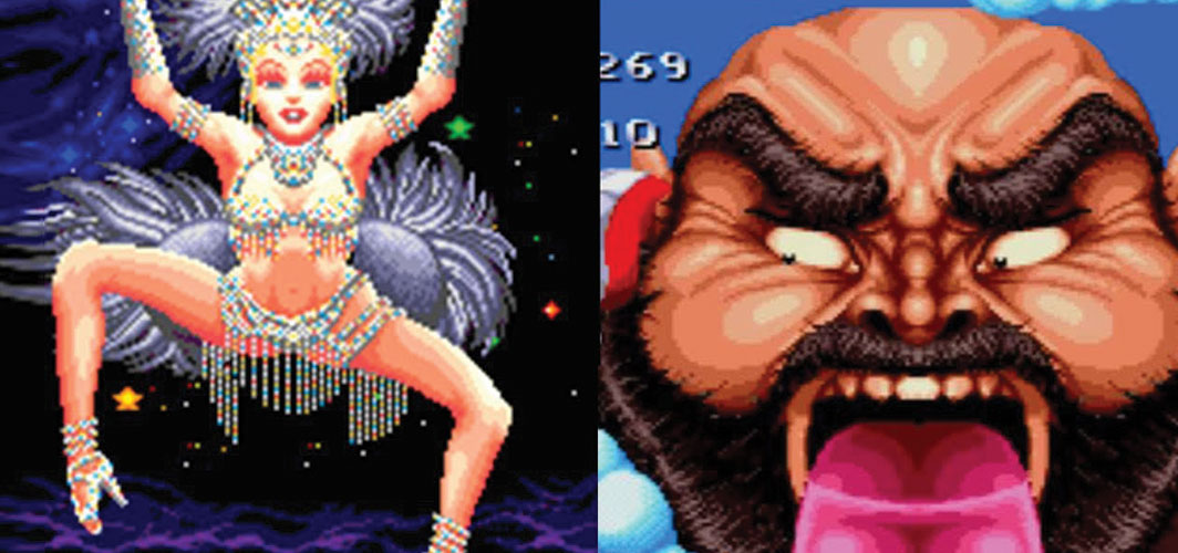 10 RETRO games with RIDICULOUS BOSSES