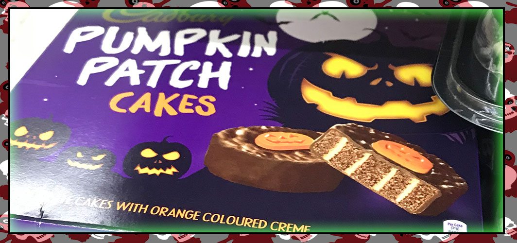 Cadbury – Pumpkin Patch Cakes - The Best UK Halloween Candy in 2018