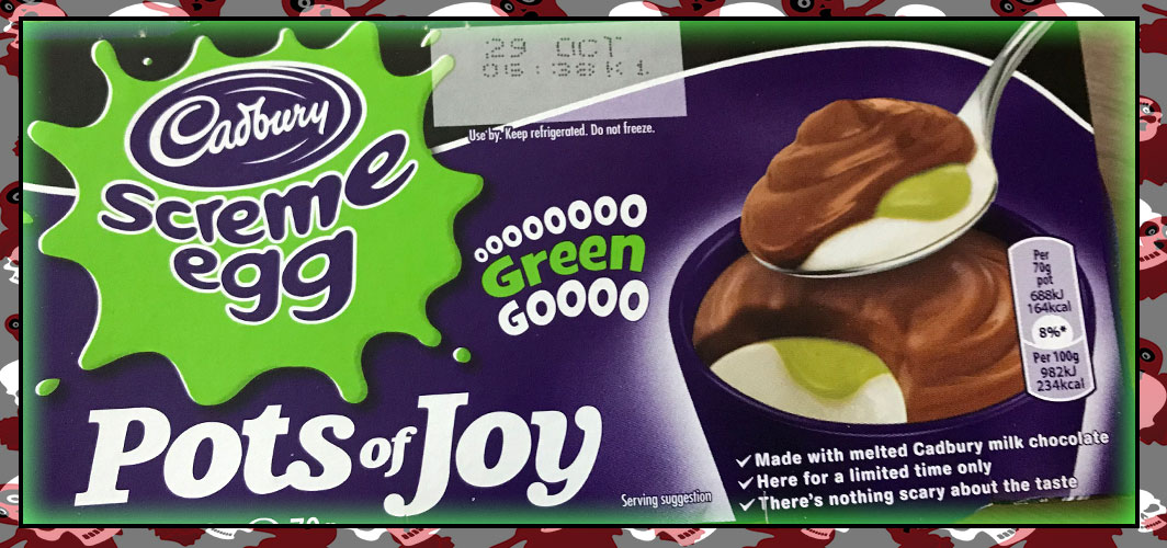 Cadbury – Screme Egg Pots of Joy - The Best UK Halloween Candy in 2018
