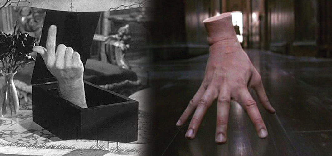 Adams Family (1960 -1999) - 12 Creepy Severed Hands In Cinema -