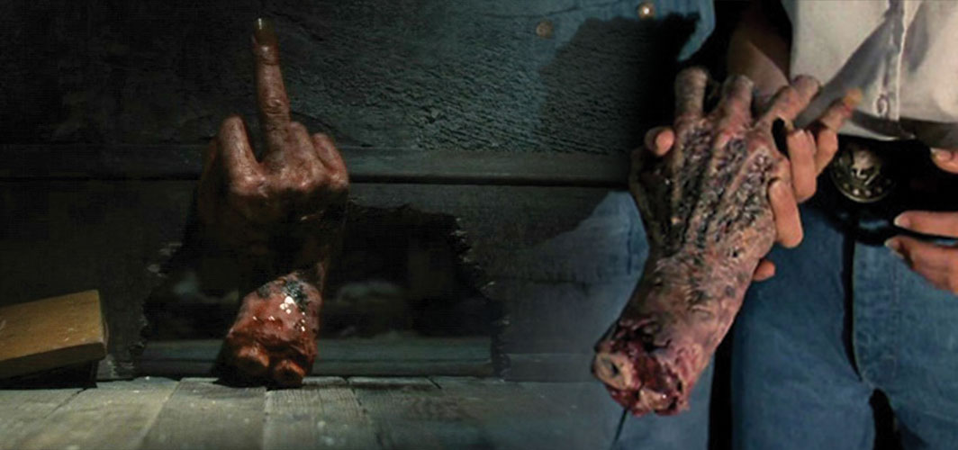 Evil Dead 2 - 12 Creepy Severed Hands In Cinema