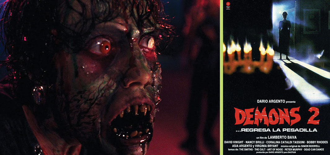 Demons 2 (1986) - 7 Movies you didn't know were Reboots