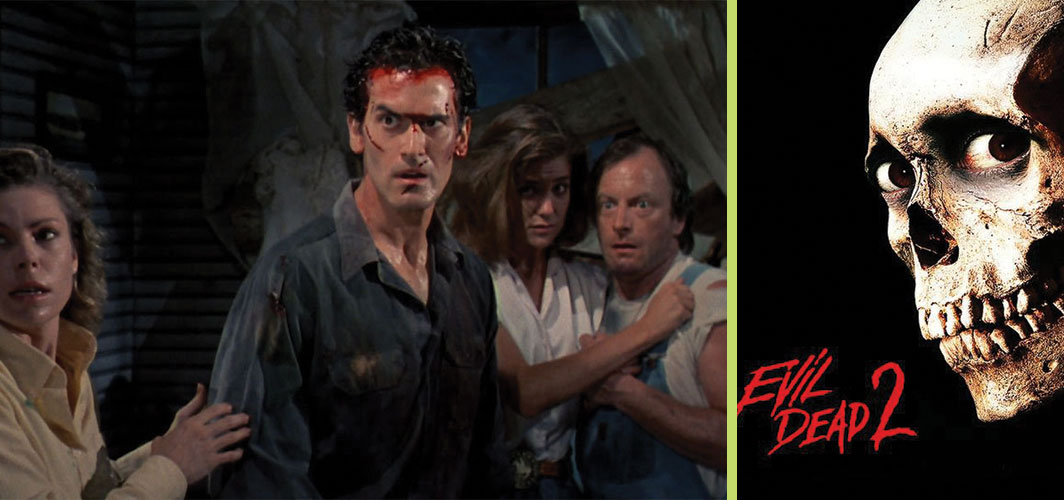 The Evil Dead 2 - 7 Movies you didn't know were Reboots