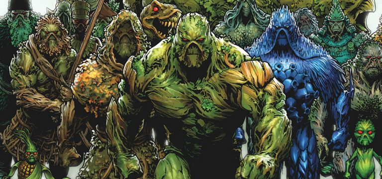 James Wan Teases Creatures from 'Swamp Thing'
