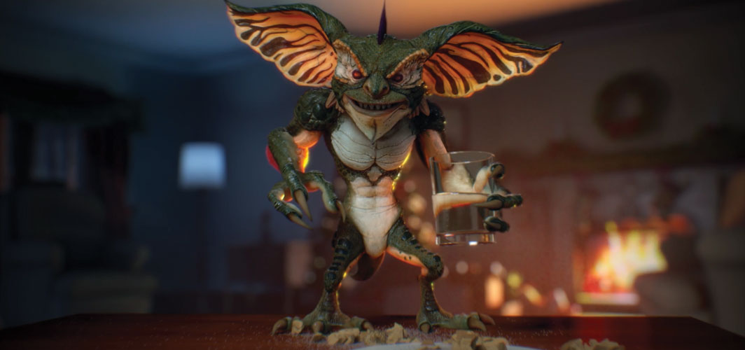 CGI 'Gremlin' in Fan Short Film