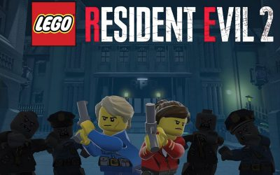 Resident Evil 2 Remade in LEGO Using LEGO Worlds