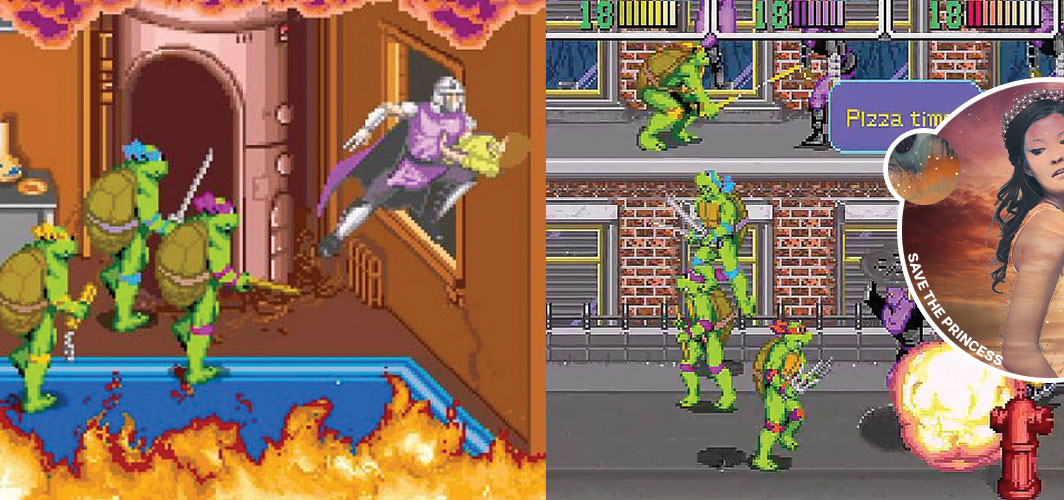 Teenage Mutant Ninja Turtles (1989) - Save the Princess