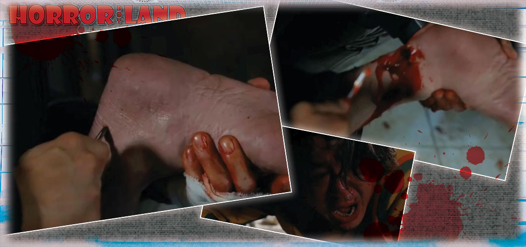 I Saw the Devil (2010) - 5 Horrific Achilles Cut Scenes