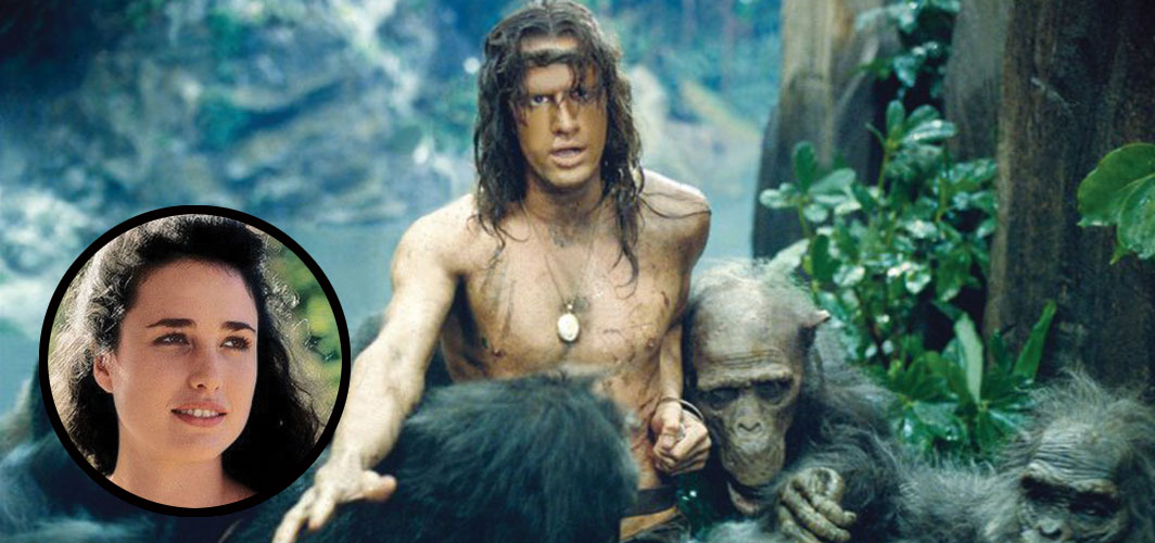 Andie MacDowell - Greystoke: The Legend of Tarzan, Lord of the Apes (1984) - 10 Actors that were Surprisingly Dubbed