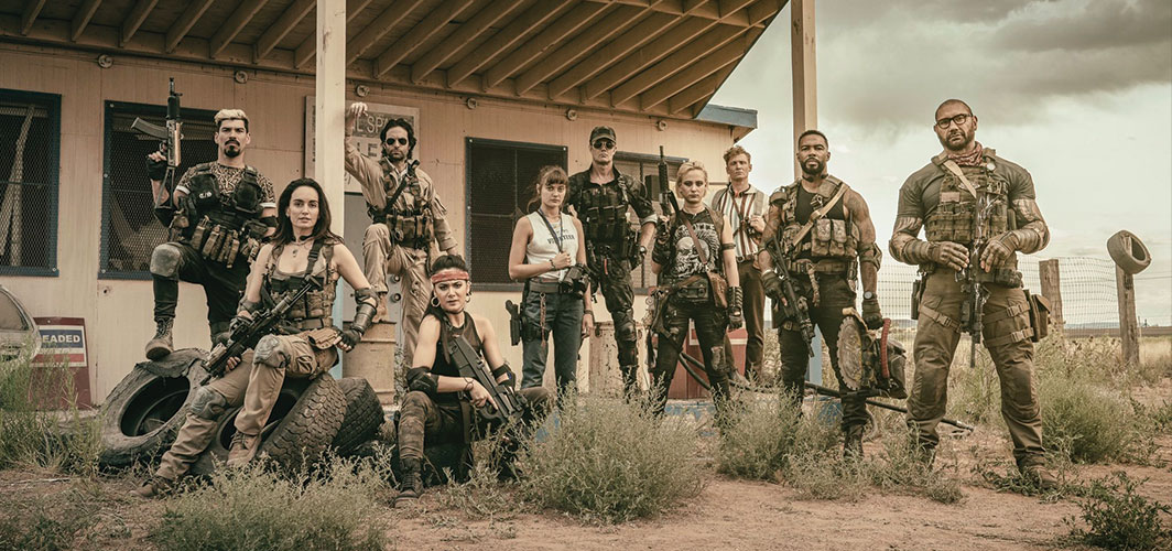 First Look at Zack Snyder's 'Army of the Dead' Cast!