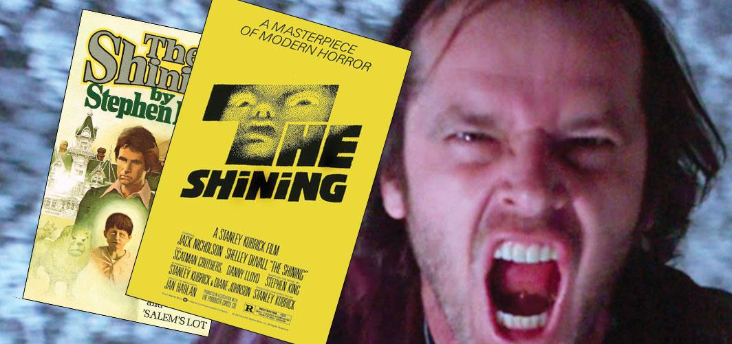 The Shining  - Stephen King vs Directors