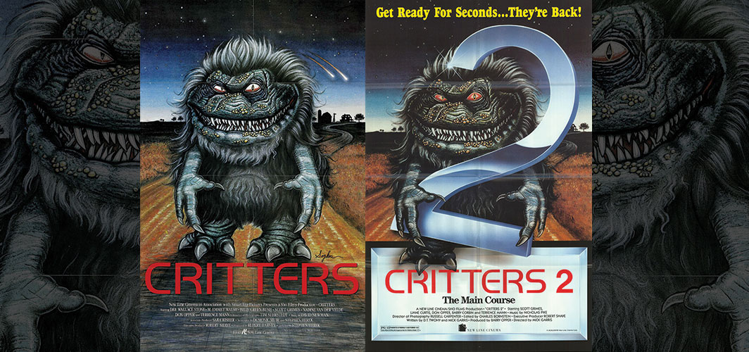 Critters + Critters 2 - Movie Poster Clichés – Duplicates