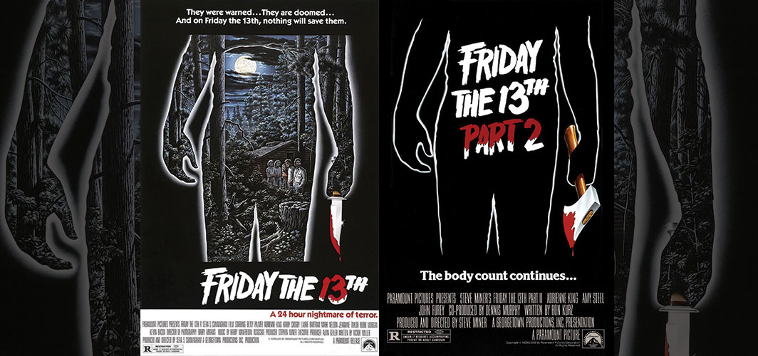 Friday the 13th + Friday the 13th Part 2 - Movie Poster Clichés – Duplicates