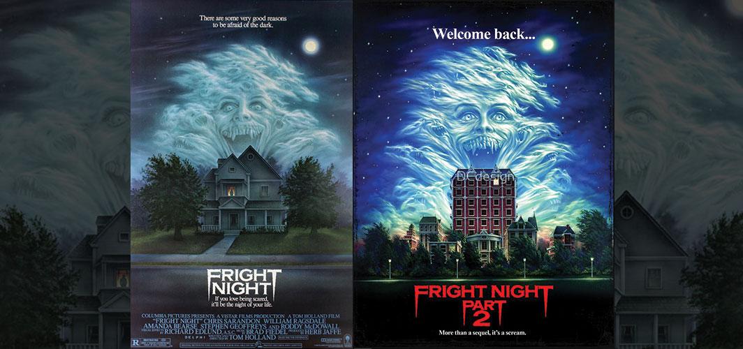 Fright Night + Fright Night Part 2 - Movie Poster Clichés – Duplicates