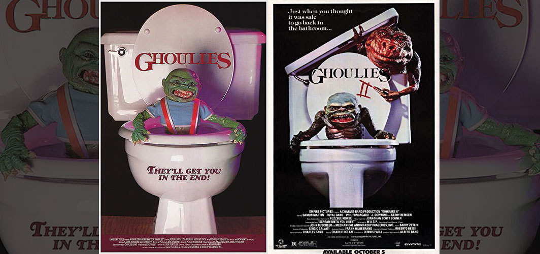 Ghoulies + Ghoulies II - Movie Poster Clichés – Duplicates