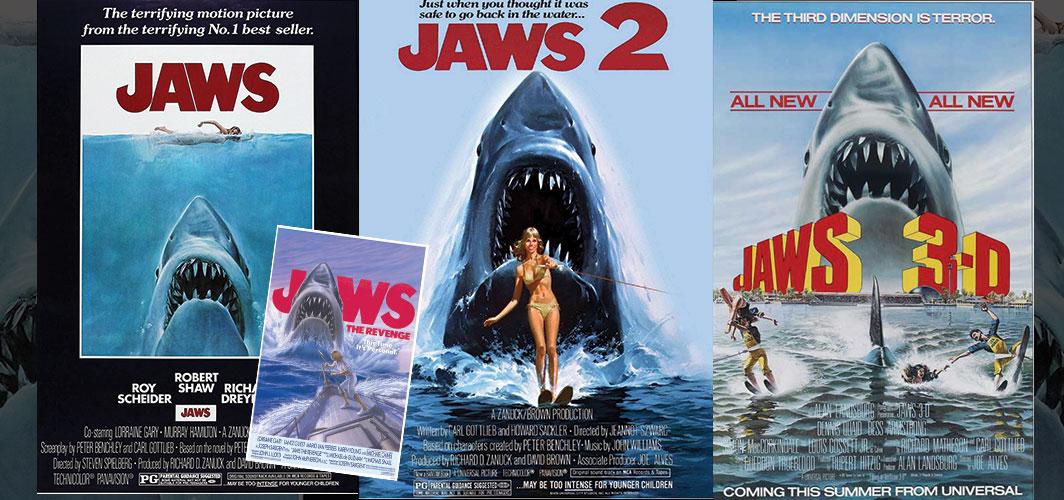 Jaws Series - Movie Poster Clichés – Duplicates