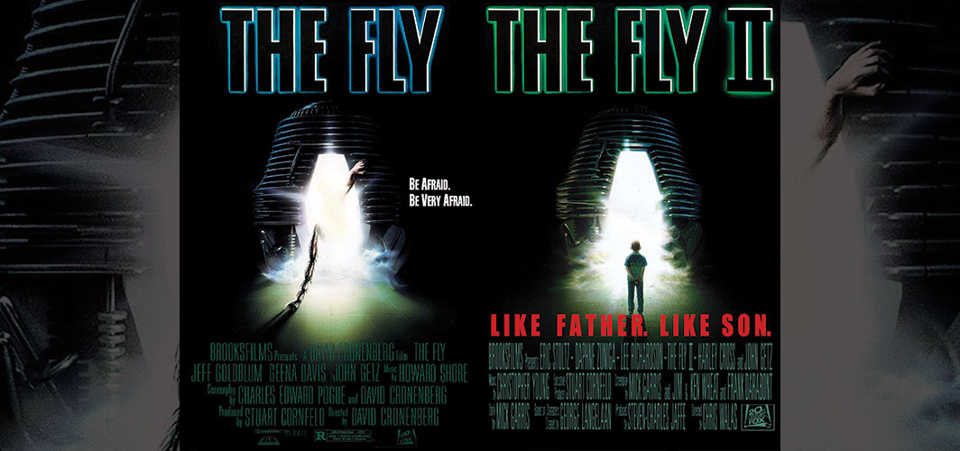 The Fly + The Fly 2 - Movie Poster Clichés – Duplicates