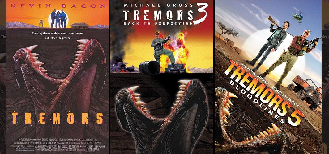 Tremors Series - Movie Poster Clichés – Duplicates