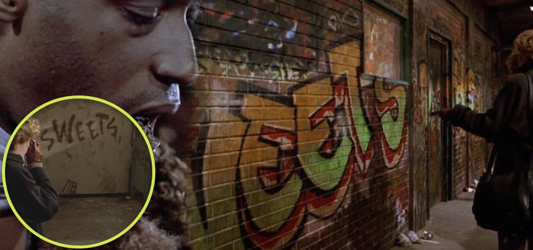 10 Terrifying Horror Signs from Films - Graffiti – Candyman (1992) - Horror Land