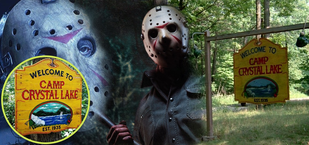 10 Terrifying Horror Signs from Films - Camp Crystal Lake - Friday the 13th (franchise) - Horror L:and