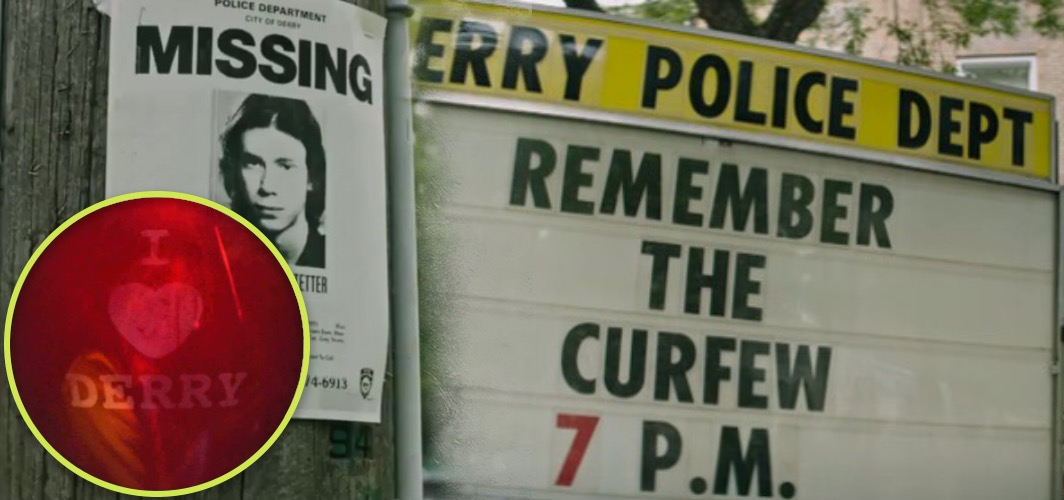 10 Terrifying Horror Signs from Films -  Curfew - It (2017) - Horror Land