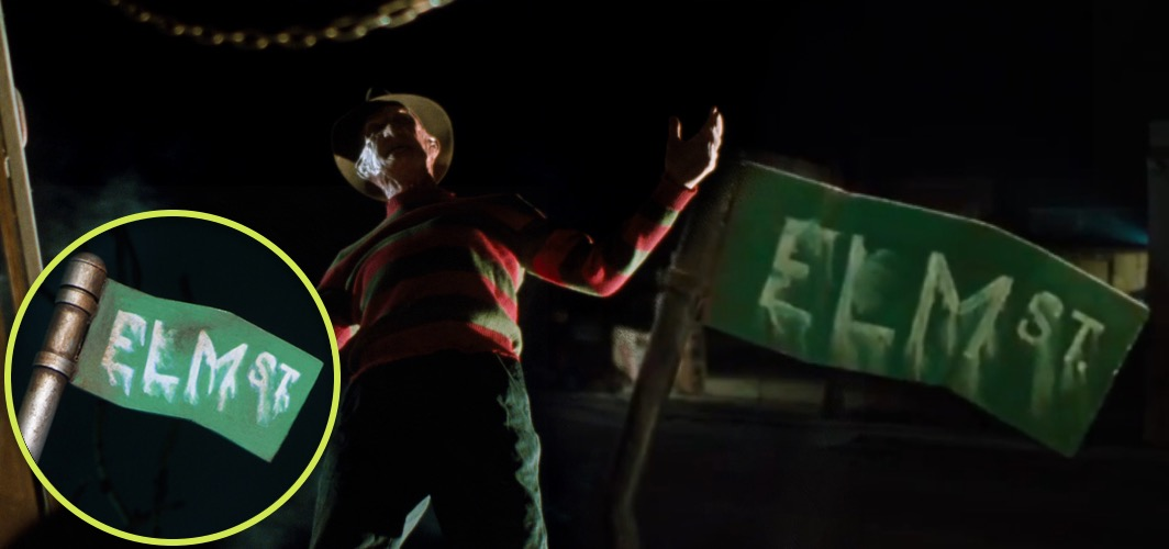 10 Terrifying Horror Signs from Films - Street Sign - A Nightmare on Elm Street (franchise) - Horror Land