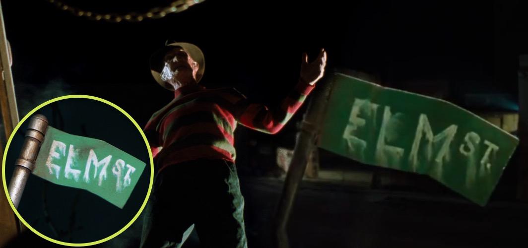 10 Terrifying Horror Signs from Films - Street Sign - A Nightmare on Elm Street (franchise) - Horror Land