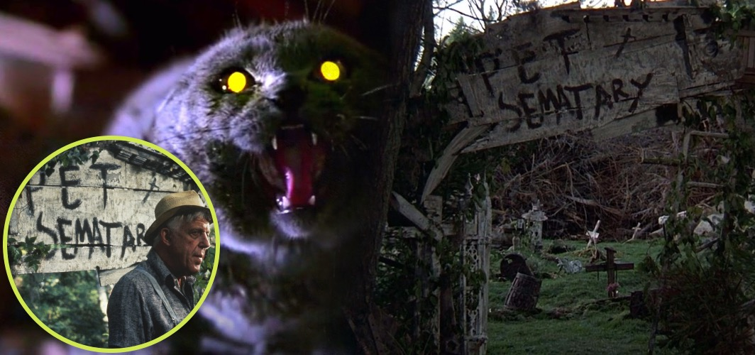 10 Terrifying Horror Signs from Films - Sign - Pet Semetery (1989) - Horror Land