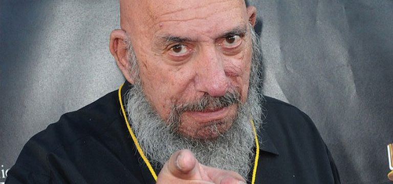 Rob Zombies Touching Memorial to Sid Haig