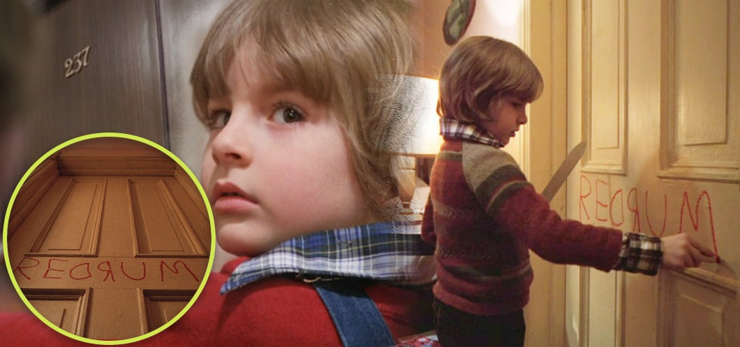 10 Terrifying Horror Signs from Films - A Warning - The Shining (1980) - Horror Land