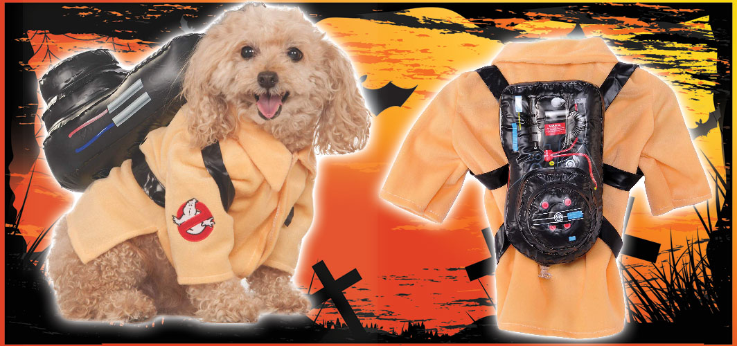 Ghostbusters - Halloween Costumes for Pets - Terrifying 2019 Collection - Horror Land